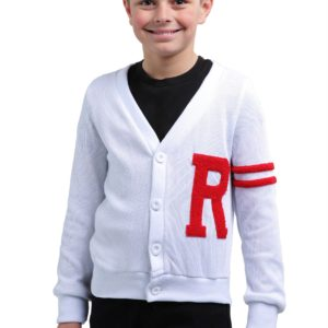 Rydell High Boys Letterman Costume Sweater from Grease