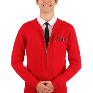Mister Rogers Men's Sweater Costume