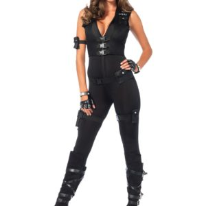 Deluxe SWAT Commander Costume for Women