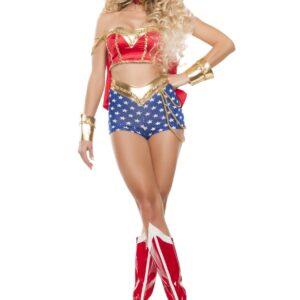 Classic Women's Sexy Wonder Lady Costume