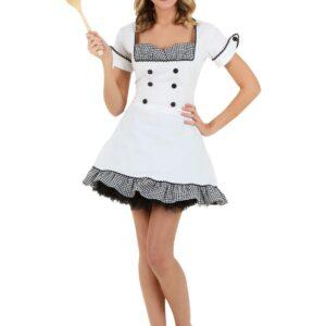 Sexy Chef Costume   Chef Halloween Costume For Women