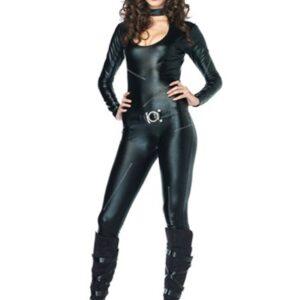 Sexy Feline Catsuit Costume   Sexy Halloween Costume for Women