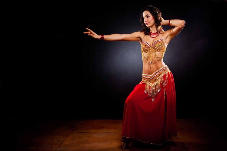 learn belly dancing online