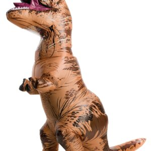 Adult Plus Size Jurassic World Inflatable T-Rex Costume