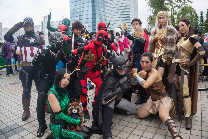 history of cosplay