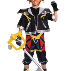 Kingdom Hearts Sora Deluxe Costume for Teens