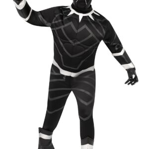 Men's Black Panther Plus Size Premium Costume