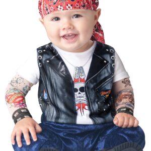 Baby Born to be Wild Biker Costume for Kids