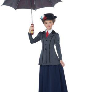 English Nanny Costume for Girls