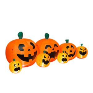 96 Inch Electric Inflatable Halloween Pumpkins