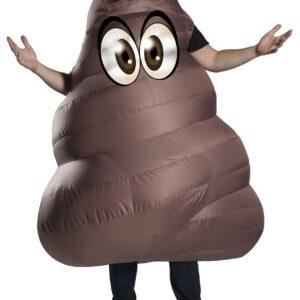 Adult's Inflatable Poop Costume