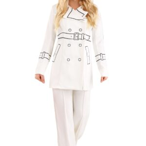 Kill Bill Elle Driver Trench Coat Costume for Women
