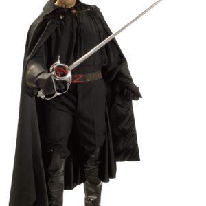 Authentic Zorro Costume - Mens Authentic Superhero Costumes