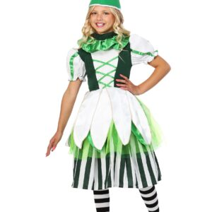 Deluxe Kid's Girl Munchkin Costume