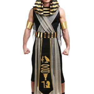 All Powerful Pharaoh Plus Size Costume for Men