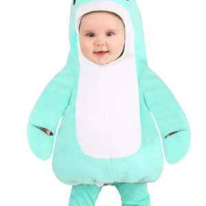 Blue Baby Narwhal Costume