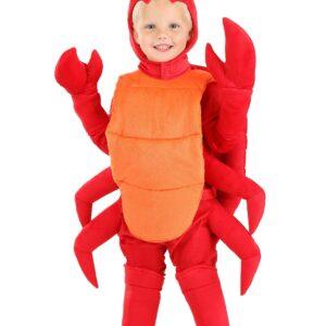 Crab Toddler Costume