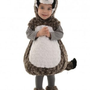 Cute Toddler Raccoon Bubble Costume