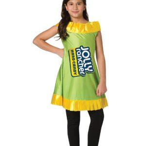 Girl's Apple Jolly Rancher Costume