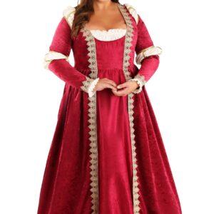 Plus Size Crimson Maiden Women's Costume